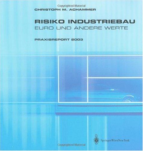 9783211212738: Risiko Industriebau - Euro Und Andere Werte: Praxisreport 2003