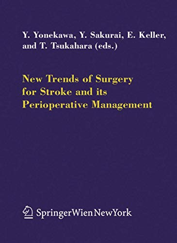 New Trends of Surgery for Cerebral Stroke and Its Perioperative Management (Hardcover)