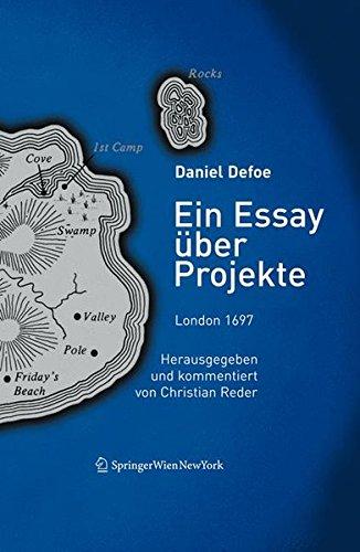 9783211295649: Ein Essay über Projekte, London 1697