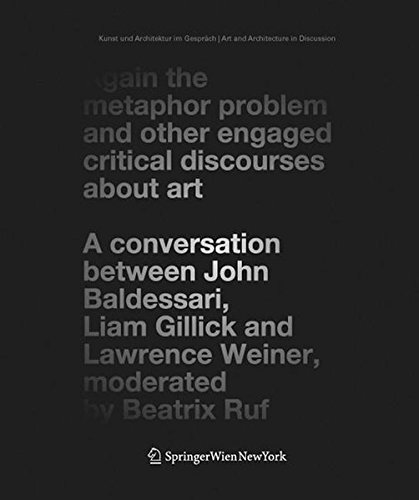 9783211298213: Again the metaphor problem and other engaged critical discourses about art (Art and architecture in discussion)