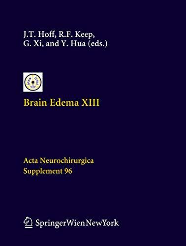 Brain Edema XIII: Julian T. Hoff