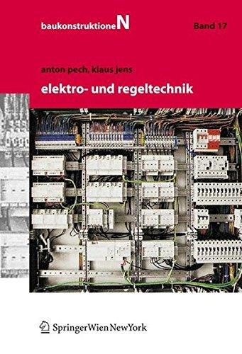 9783211330340: Elektro- und Regeltechnik (Baukonstruktionen) (German Edition)