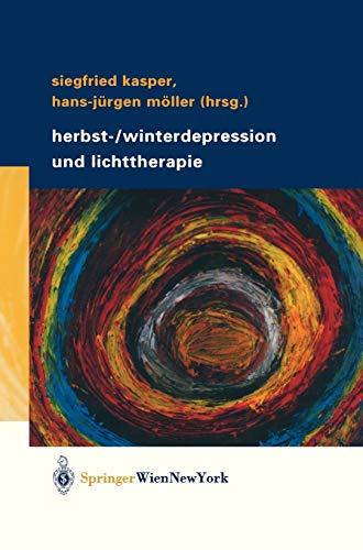 9783211404812: Herbst-/Winterdepression und Lichttherapie