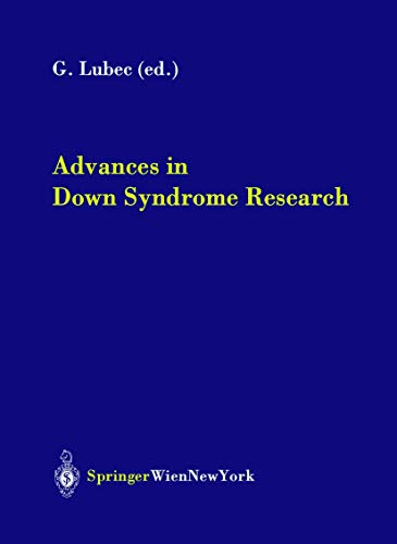 9783211407813: Advances in Down Syndrome Research (Journal of Neural Transmission. Supplementa)
