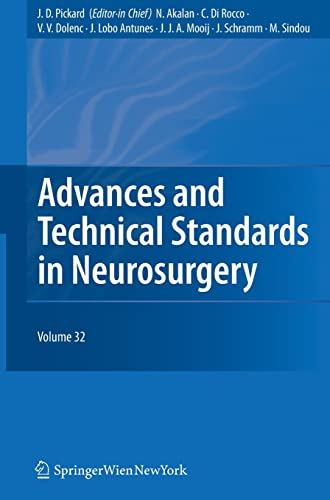 9783211474167: Advances and Technical Standards in Neurosurgery