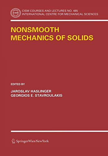 Nonsmooth Mechanics of Solids