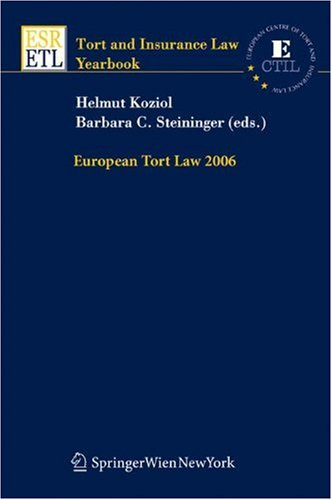 European Tort Law 2006: KOZIOL