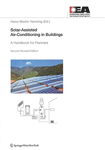 9783211730959: Solar-Assisted Air-Conditioning in Buildings: A Handbook for Planners