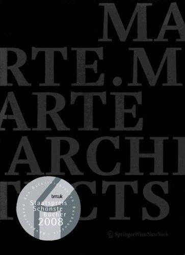 9783211791998: Marte.Marte Architects
