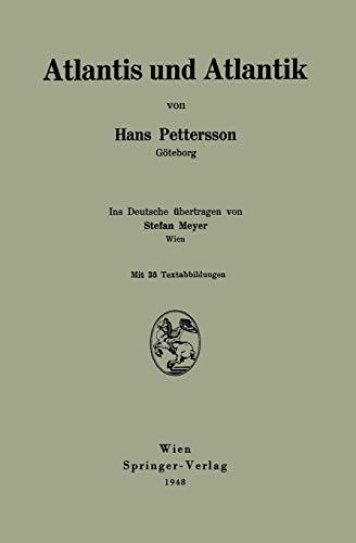 Atlantis und Atlantik German Edition: Hans Pettersson