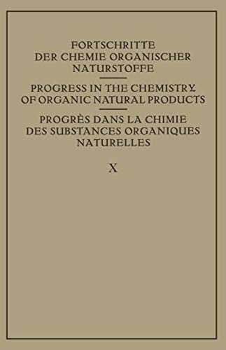 9783211803004: Fortschritte der Chemie Organischer Naturstoffe / Progress in the Chemistry of Organic Natural Products / Progres dans La Chimie des Substances ... (English, German and French Edition)