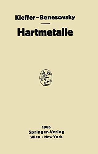 9783211807255: Hartmetalle (German Edition)