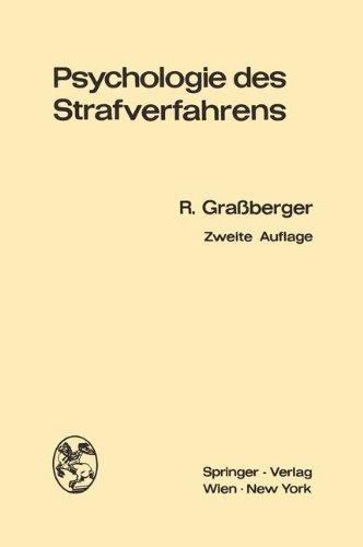 9783211808658: Psychologie des Strafverfahrens (German Edition)