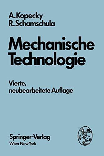 9783211814093: Mechanische Technologie (German Edition)