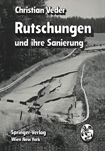 9783211815045: Rutschungen und ihre Sanierung (German Edition)