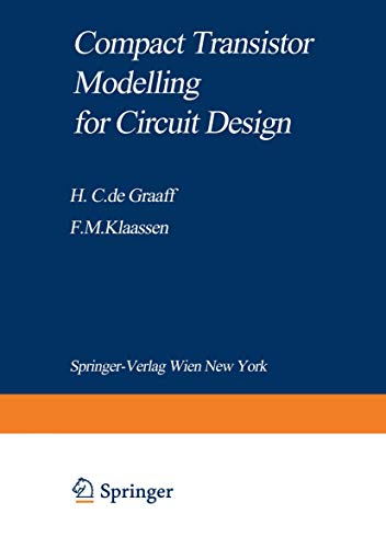 9783211821367: Compact Transistor Modelling for Circuit Design (Computational Microelectronics)