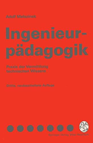 9783211823828: Ingenieurpadagogik