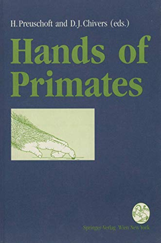 9783211823859: Hands of Primates