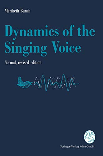 9783211823941: Dynamics of the Singing Voice