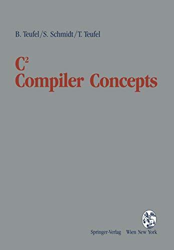 9783211824313: C2 Compiler Concepts