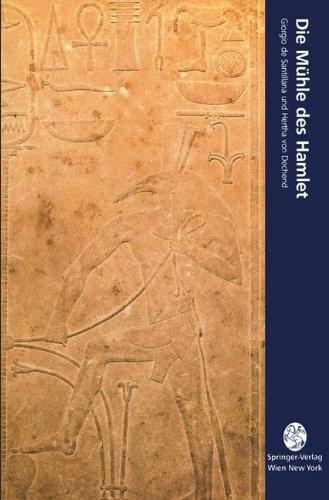 9783211826300: Die Mühle des Hamlet: Ein Essay über Mythos und das Gerüst der Zeit: 008 (Computerkultur)