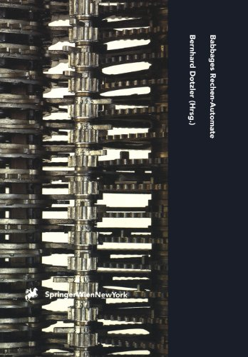 9783211826409: Babbages Rechen-Automate: Ausgewählte Schriften (Computerkultur) (German Edition)