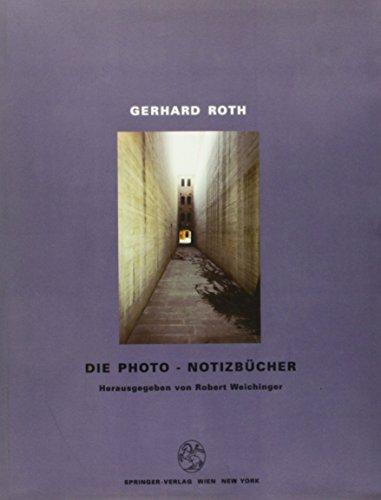 9783211827000: Gerhard Roth. Die Photo-Notizbücher (German Edition)