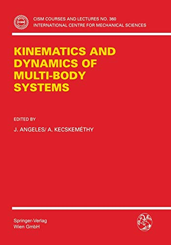 9783211827314: Kinematics And Dynamics Of Multi-body Systems