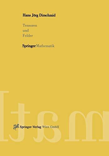 9783211827543: Tensoren und Felder (German Edition)