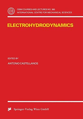 9783211831373: Electrohydrodynamics
