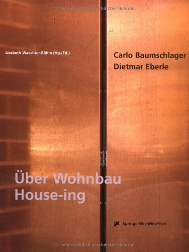 9783211832288: Baumschlager & Eberle: Hous-ing
