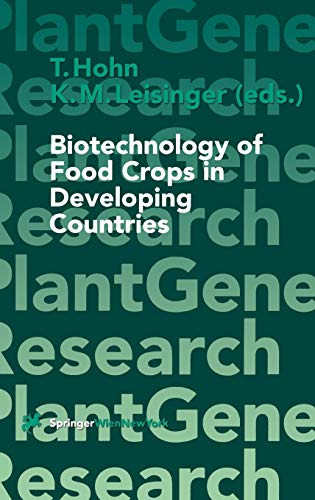 9783211832400: Biotechnology of Food Crops in Developing Countries (Plant Gene Research)