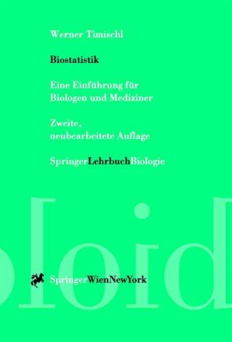9783211833179: Biostatistik: Eine Einführung für Biologen und Mediziner (German Edition)