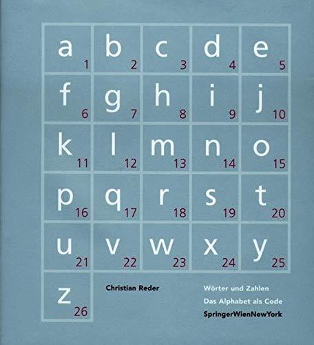 9783211834060 Worter Und Zahlen Das Alphabet Als Code Zvab