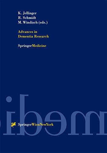 9783211835135: Advances in Dementia Research