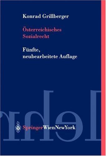 9783211836194: Vsterreichisches Sozialrecht
