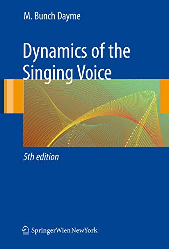 9783211887288: Dynamics of the Singing Voice