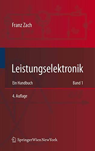 9783211892138: Leistungselektronik: Ein Handbuch Band 1 / Band 2