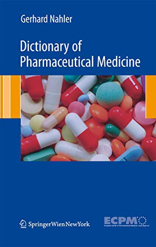 9783211898352: Dictionary of Pharmaceutical Medicine