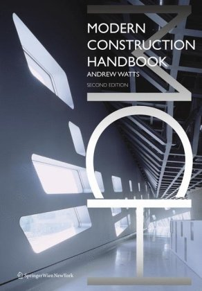 9783211991954: Modern Construction: Handbook