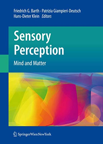 9783211997505: Sensory Perception: Mind and Matter