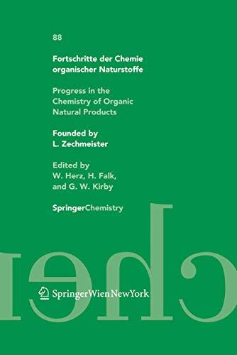 9783211998724: Fortschritte der Chemie organischer Naturstoffe / Progress in the Chemistry of Organic Natural Products 88