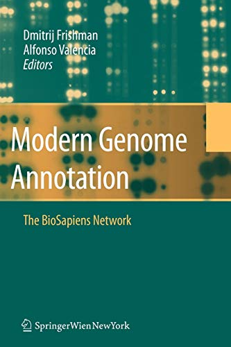 9783211999110: Modern Genome Annotation: The Biosapiens Network