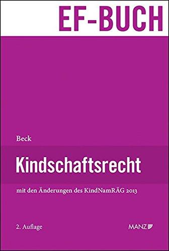 Kindschaftsrecht: Susanne Beck