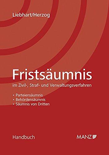 Fristsäumnis: Gunther Liebhart