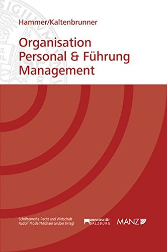 Organisation, Personal & Führung, Management: Richard Hammer
