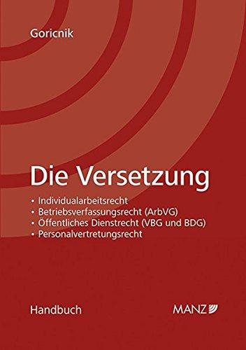 Die Versetzung: Wolfgang Goricnik