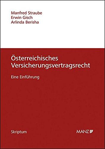 9783214011161: Österreichisches Versicherungsvertragsrecht