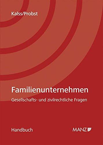 Familienunternehmen (f. Österreich): Susanne Kalss