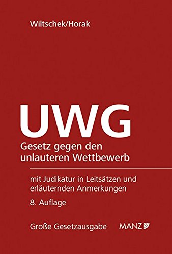 UWG: Lothar Wiltschek
